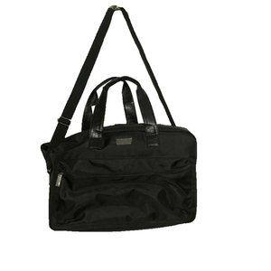 Jimmy Choo Weekend Duffle Travel Gym Shoulder Bag